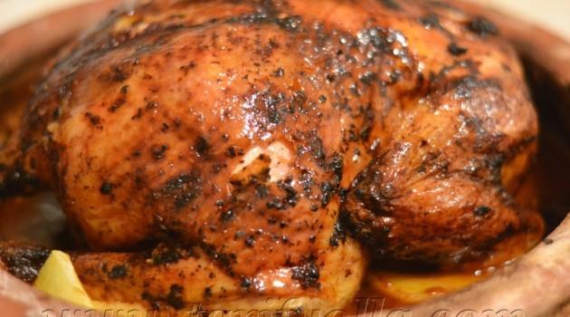 Fırında piliç – güveçte tavuk