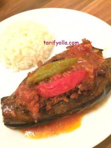 fırında patlıcanla karnııyarık 1