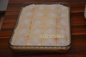 havuçlu muhallebili kek tarifi
