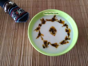erişteli yoğurt çorbası nasıl yapılır