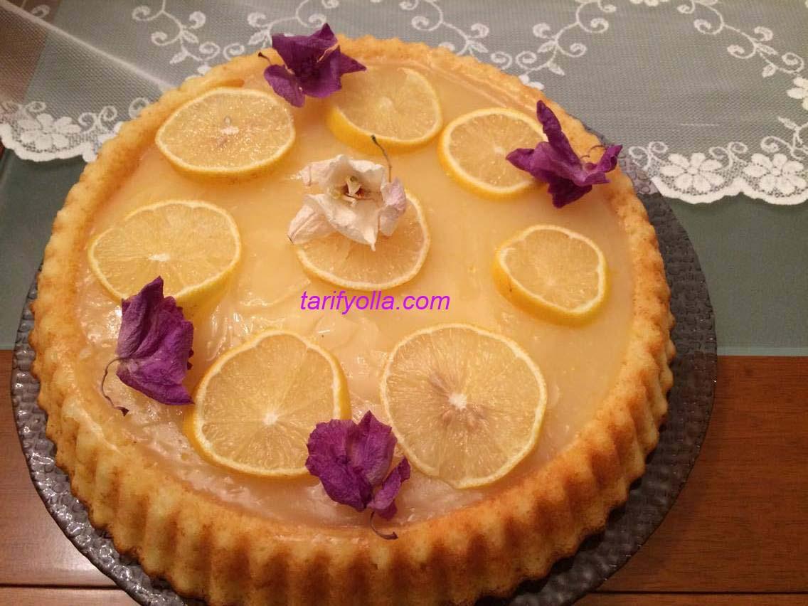 Limonlu Tart Tarifi